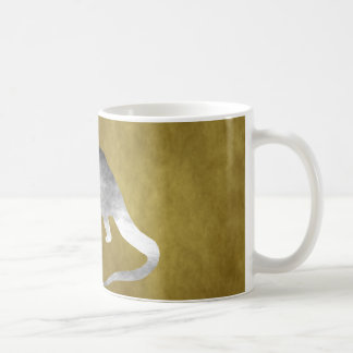 Brontosaurusの骨組 コーヒーマグカップ