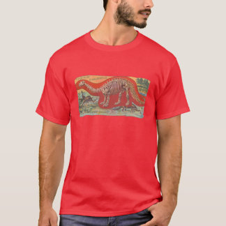 brontosaurusのD'Aiguebelleカード1905年 Tシャツ