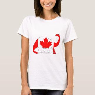 Brontosaurusカナダ Tシャツ