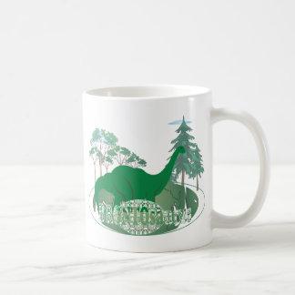 Brontosaurus コーヒーマグカップ