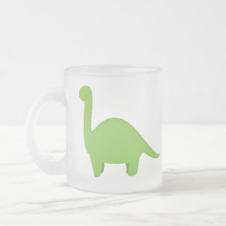 Brontosaurus フロストグラスマグカップ