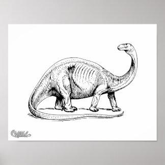 Brontosaurus ポスター