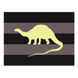 Brontosaurus ポストカード
