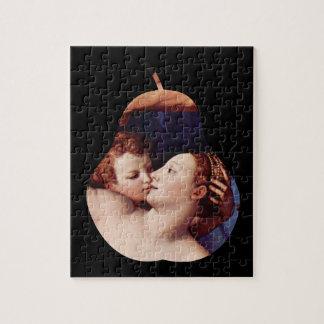 Bronzinoによる金星のキューピッドの愚劣そして時間は困惑します ジグソーパズル
