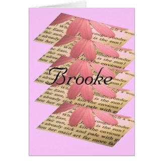 Brooke カード