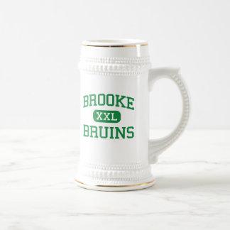 Brooke -クマ-高Wellsburgウェストヴァージニア ビールジョッキ
