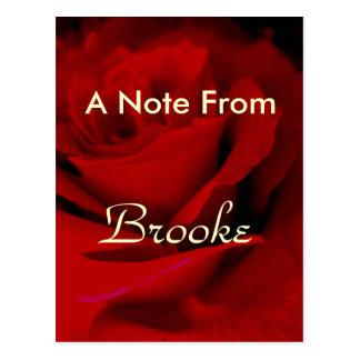Brooke ポストカード