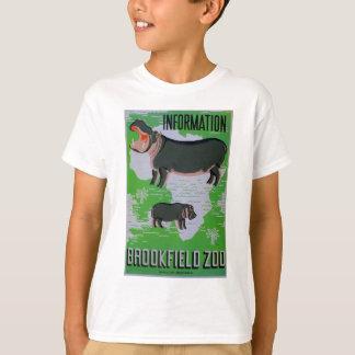 Brookfieldの動物園のカバ! Tシャツ
