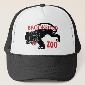 Brookfieldの動物園の黒のヒョウの帽子 キャップ