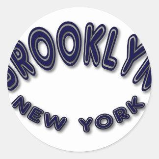 Brooklyニューヨーク ラウンドシール
