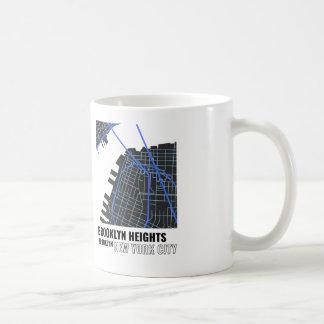 Brooklyn Heights、ブルックリンNYCのマグ コーヒーマグカップ