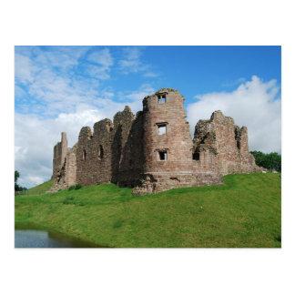 Broughの城の郵便はがき ポストカード
