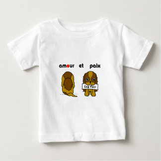 BROWN DOG ベビーTシャツ