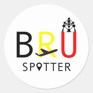 BRUの監視人 ラウンドシール