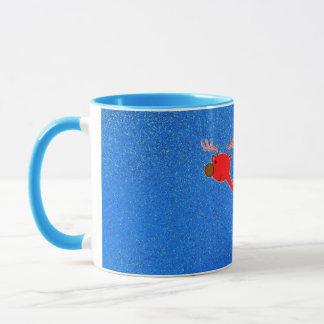 Brudolf機嫌を取のトナカイのコップ マグカップ