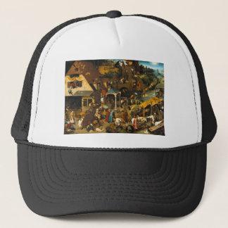 Bruegel Netherlandishの諺 キャップ