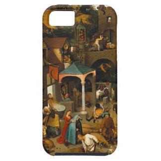 Bruegel Netherlandishの諺 iPhone SE/5/5s ケース