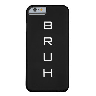 BruhのiPhone 6/6sのやっとそこに場合 Barely There iPhone 6 ケース