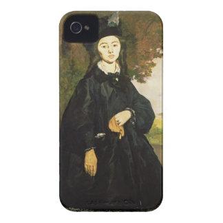 Brunet Manet |夫人 Case-Mate iPhone 4 ケース