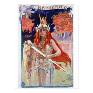 Brunhilde ポストカード