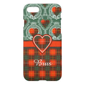 Brusの一族の格子縞のスコットランドのキルトのタータンチェック iPhone 8/7 ケース