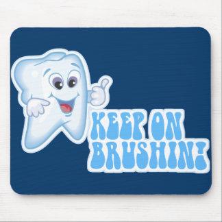 Brushinで保って下さい! マウスパッド