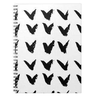 Brushtrokeシェブロンパターン ノートブック