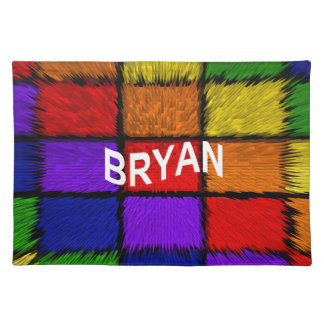 BRYAN (男性の名前) ランチョンマット