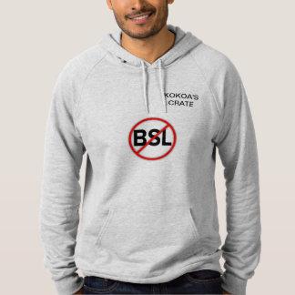 BSL無し(フード付きスウェットシャツ) パーカ