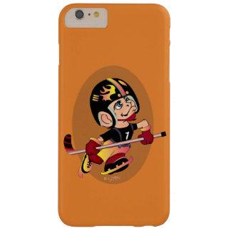 BTとホッケー選手の漫画のiPhone 6/6s Barely There iPhone 6 Plus ケース
