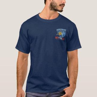 BT271 -やみ市場の寿司の飛び込みのチームティー Tシャツ