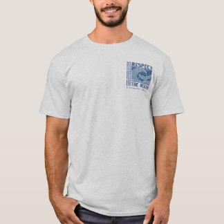 BT321 -海を尊重して下さい、海のティーを保護して下さい Tシャツ