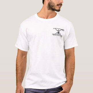 BT327 -悪いマグロの種族の一口のチームティー Tシャツ