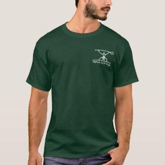 BT327D -悪いマグロの種族の一口のチーム暗闇のティー Tシャツ
