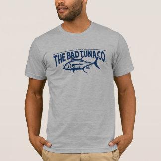 BT335 -マグロCo.のヴィンテージのAhiの悪いTシャツ Tシャツ