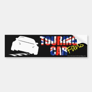 BTCCファンのバンパーステッカー バンパーステッカー