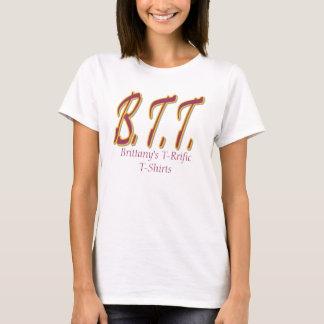BTT 2のブリッタニーのT-RrificのTシャツ Tシャツ