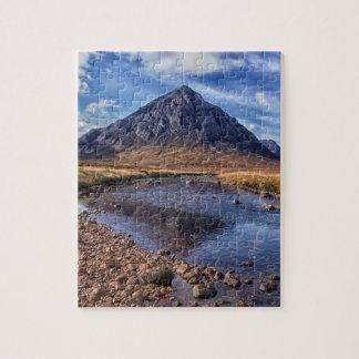Buachaille Etive Mhorの谷間Coe、スコットランド ジグソーパズル