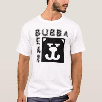 Bubbaくまの正方形くま Tシャツ