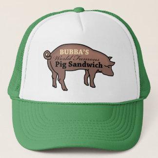 Bubbaの世界的に有名なブタサンドイッチ キャップ