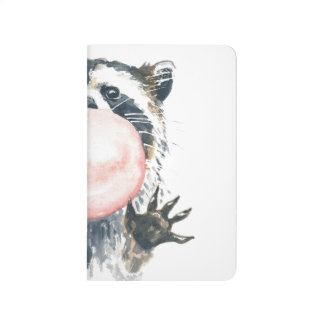 Bubblegumのアライグマの小型ノート ポケットジャーナル