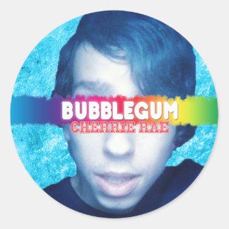 Bubblegumのステッカー ラウンドシール