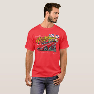 Bubblegumのノスタルジア赤のおもしろいな車のTシャツ Tシャツ