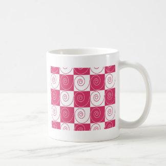 BubblegumのピンクのMousey尾 コーヒーマグカップ