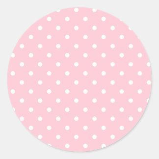 Bubblegumのピンク ラウンドシール