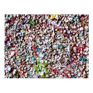 Bubblegumの壁 ポストカード