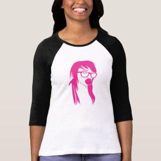 Bubblegumの女の子 Tシャツ