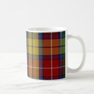 Buchananのタータンチェックのマグ コーヒーマグカップ