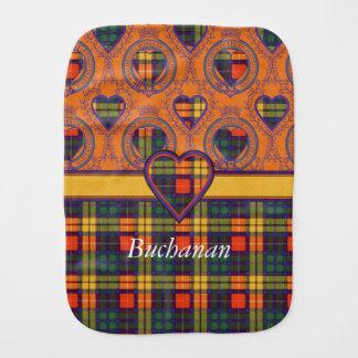 Buchananの一族の格子縞のスコットランド人のタータンチェック バープクロス