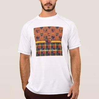 Buchananの一族の格子縞のスコットランド人のタータンチェック Tシャツ